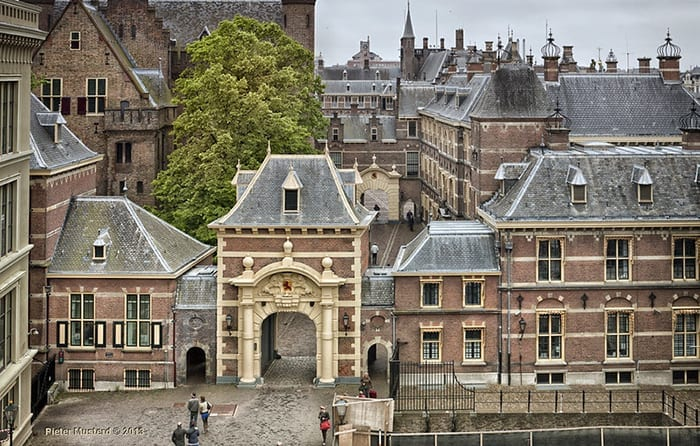 The Binnenhof The Hague, best city to live in Europe