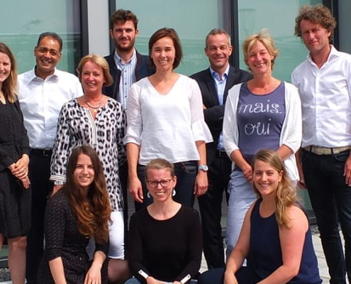 DAB team en Biotech Campus Delft team