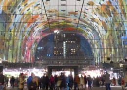 Markthal Rotterdam-the best place for living in Europe
