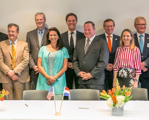 kickoff Massachusetts the-Netherlands partnership life sciences