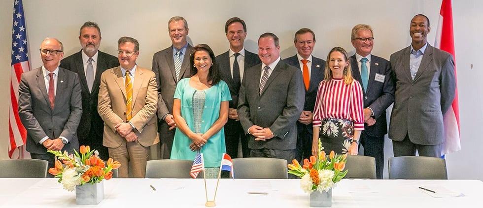 kickoff Massachusetts the-Netherlands partnership life sciences