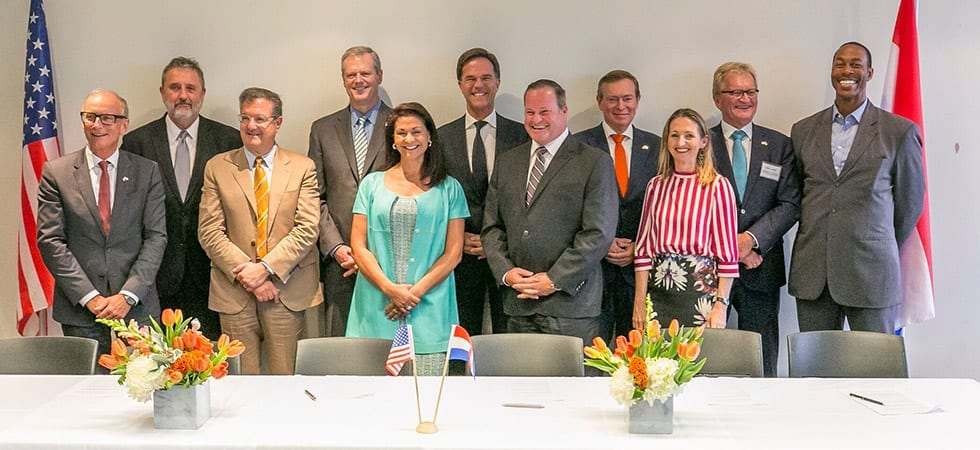 Massachusetts and the Netherlands kickoff international partnership in life sciences