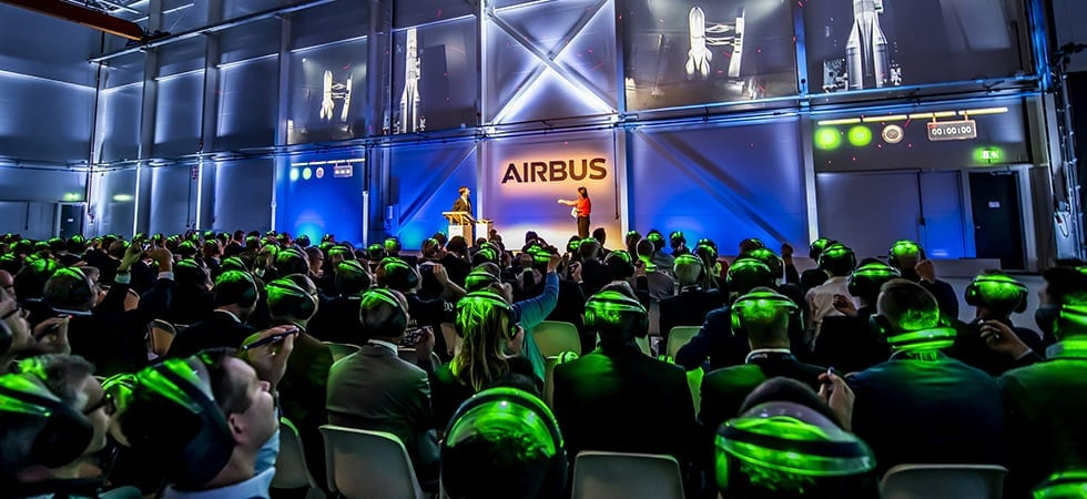 Prime minister Rutte opens new Airbus production facility in West Holland 2 photography Vega