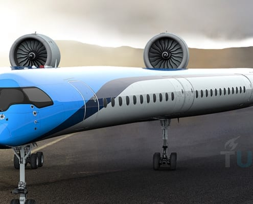 Sustainable Aviation Airplane TU Delft KLM