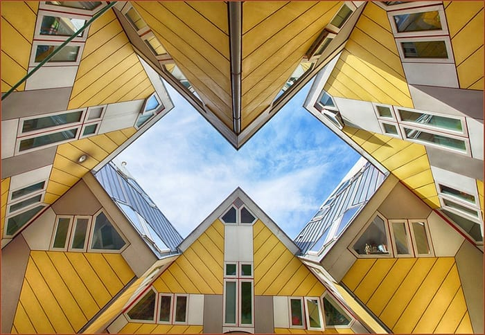 cube houses in rotterdam-the best city for expats