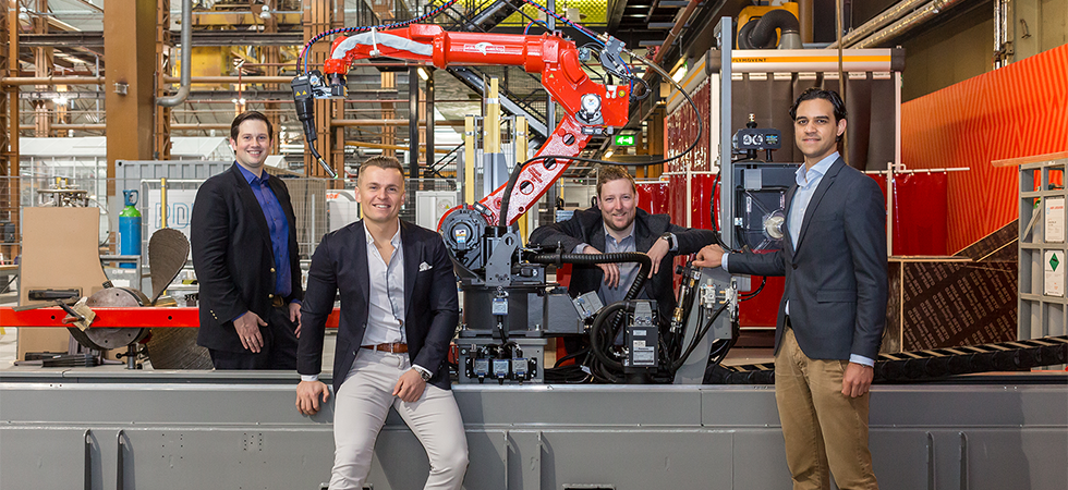 ABB Technology Ventures and InnovationQuarter invest in Delft robotics startup IMSystems