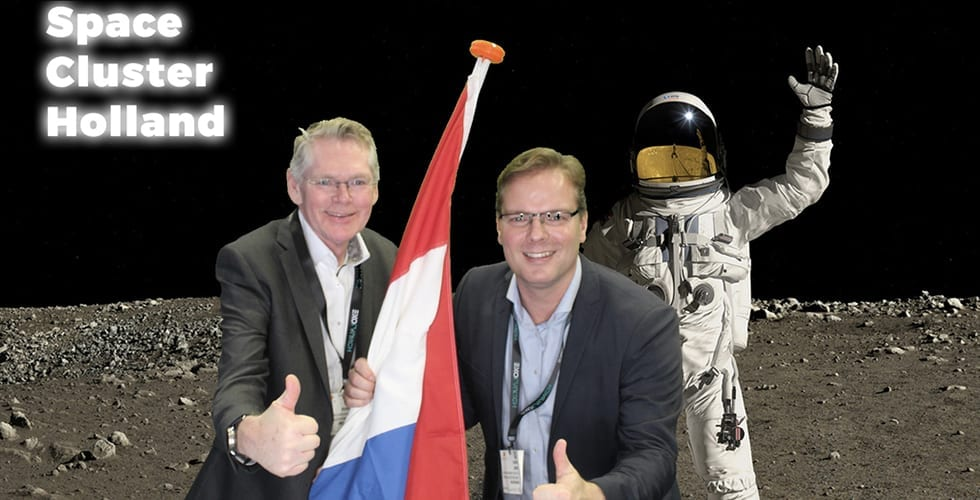 Space Cluster Holland in trek op Space Tech Expo Bremen 004 980x450 1