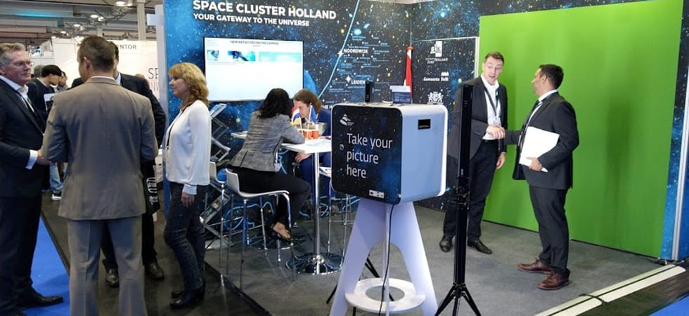 Space Cluster Holland in trek op Space Tech Expo Bremen 980x450 1
