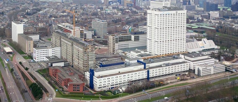 Erasmus MC Rotterdam Aerial View