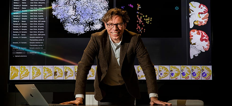 Professor Marcel Reinders, Director TU Delft Bioengineering Institute and Artificial Intelligence Lab for Biosciences