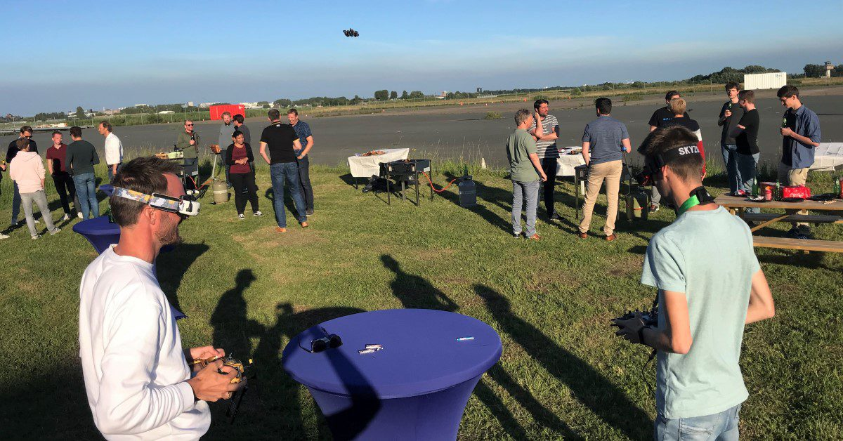 Testing drones at unmanned valley