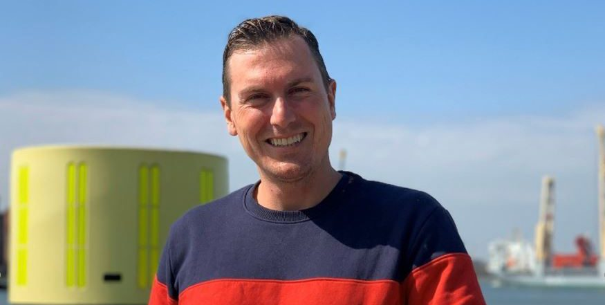 Thomas Schouten of Falcker drone